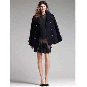Banana Republic • Navy Double Breasted Pea Coat